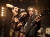 """Uwe und Fuckmachine von der Flensburger Heavy-Metal-Band """"BlackMetalMonsterFuck"""""""